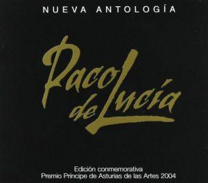 CD Paco de Lucía – Nueva antología (2 CDs)