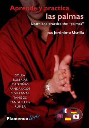 DVD Jerónimo Utrilla – Aprende y practica las palmas