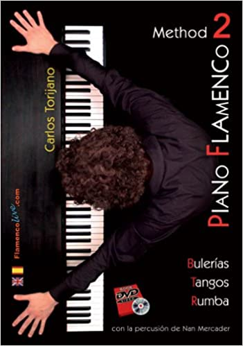 DVD Carlos Torijano – Piano flamenco 2