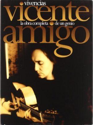 CD Vicente Amigo – Vivencias. La obra completa de un genio (6 CDs + DVD)