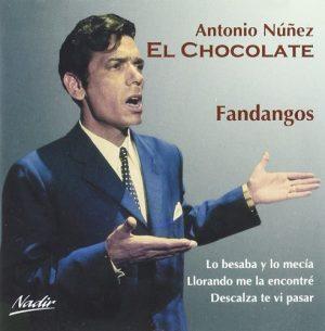 CD Antonio Núñez «El Chocolate» – Fandangos