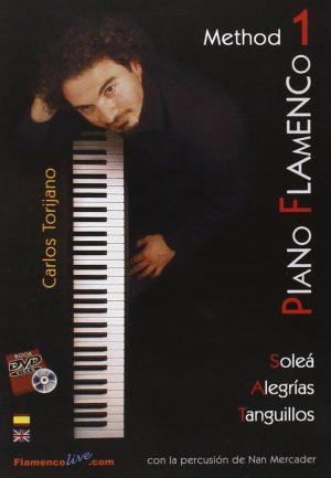 DVD Carlos Torijano – Piano flamenco 1