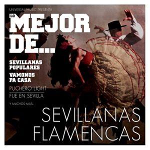 CD Varios Artistas – Lo mejor de sevillanas flamencas