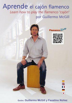 Cajón Flamenco Guillermo McGill – Aprende el cajón flamenco (DVD + Libro)