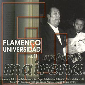 CD Antonio Mairena – Flamenco y Universidad vol. 2