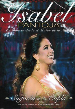 CD Isabel Pantoja – Sinfonía de la copla (CD + DVD)
