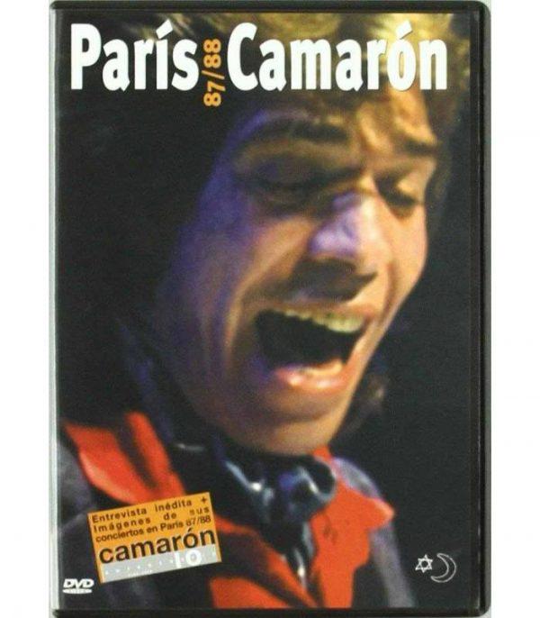 DVD Camarón de la Isla – París 87/88