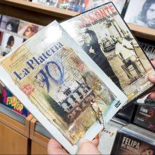 Colección de dvd flamenco en la tienda flamenco Gran Vía Discos